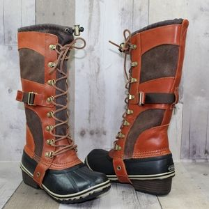 SOREL Conquest Carly II Brown Boots